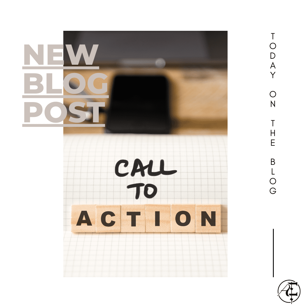 New Blog Post for Call to Action